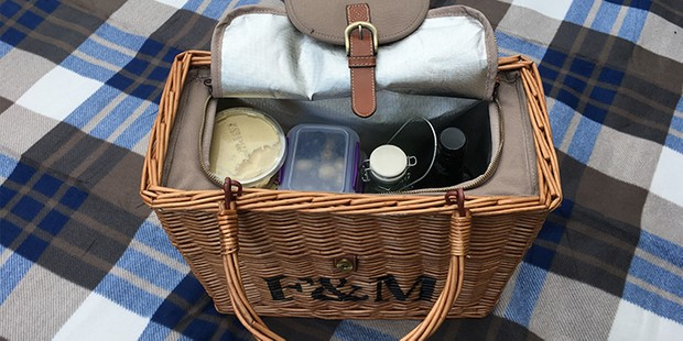 Fortnum and Mason Picnic Hamper, best picnic baskets and hampers