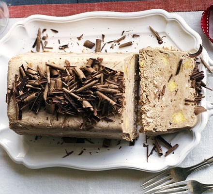 Freeze-ahead chocolate & chestnut parfait