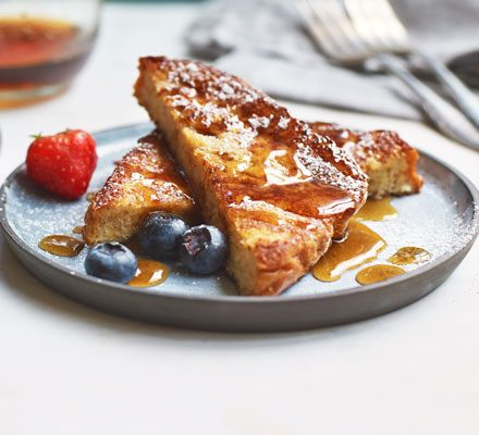 Easy French toast recipe | BBC Good Food