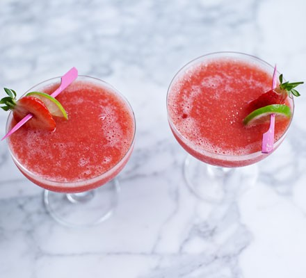 Frozen Strawberry Daiquiri Recipe Bbc Good Food