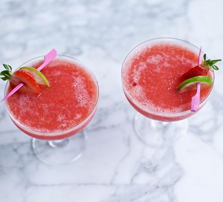 Frozen Strawberry Daiquiri Recipe Bbc Good Food