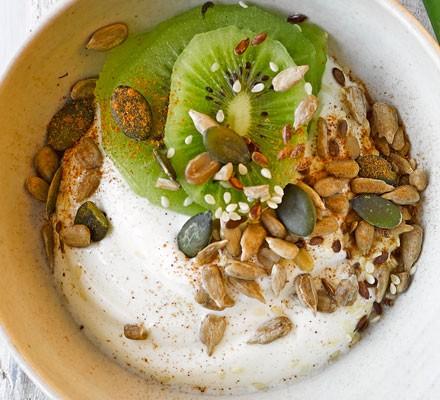 Fruit & seed yogurt