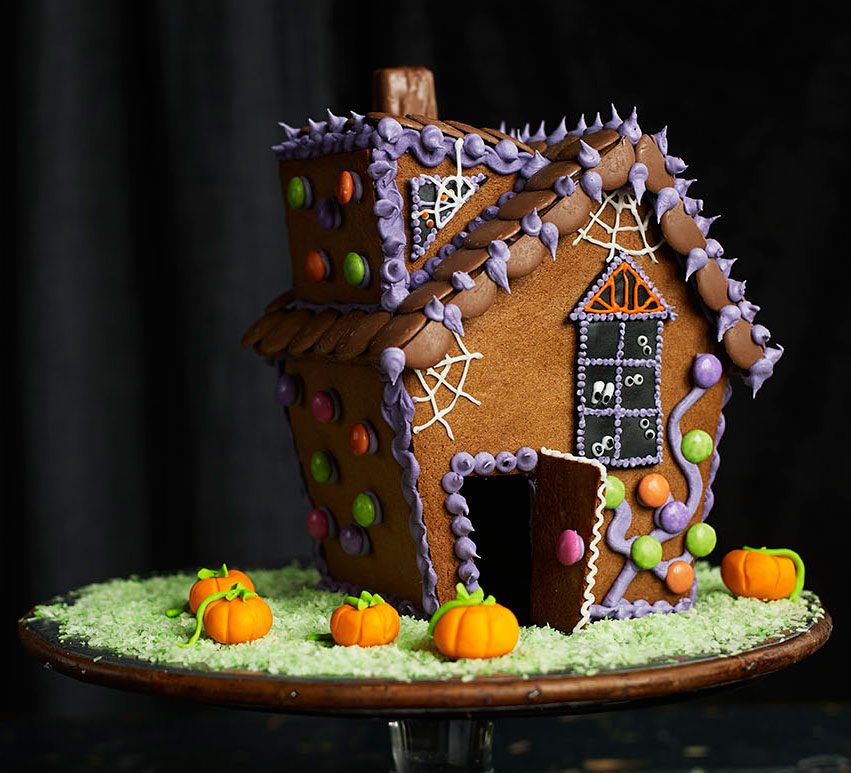 Gingerbread Haunted House Recipe Bbc Good Food