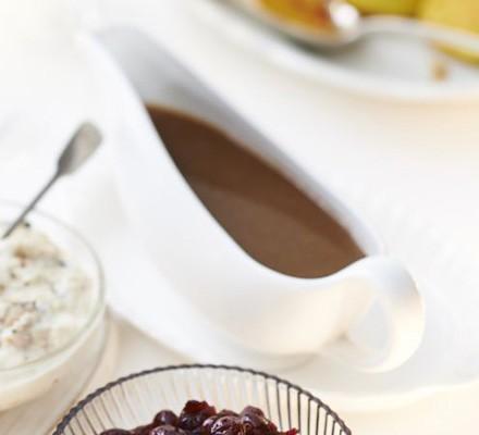 Tasty make-ahead gravy