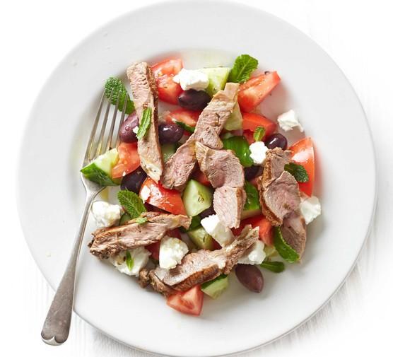 Greek lamb salad