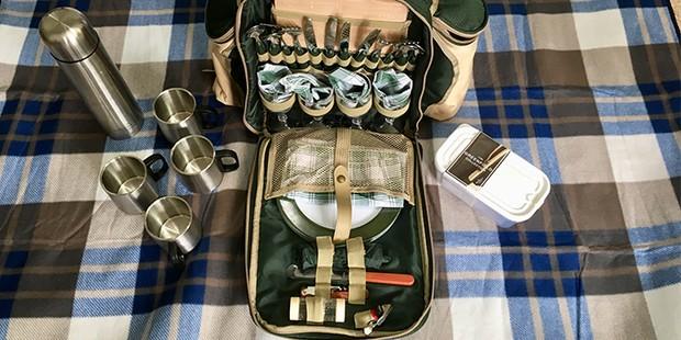 Greenfield Super Deluxe Picnic Rucksack, best picnic hampers