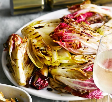 Griddled chicory