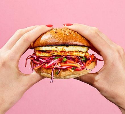 Vegetarian Burger Recipes Bbc Good Food
