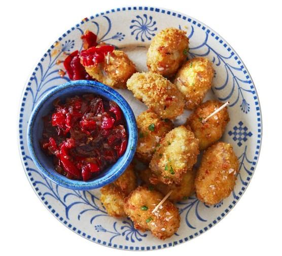 Ham & cheese croquetas