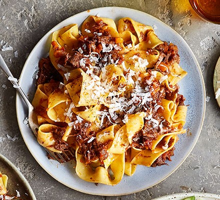 Hand-cut pappardelle