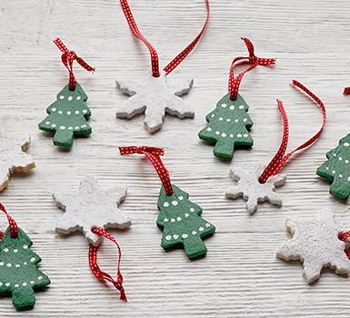 How to make salt dough Christmas decorations - BBC Good Food