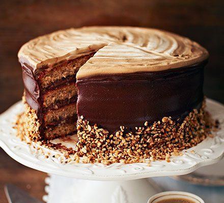 Hazelnut latte cake_image