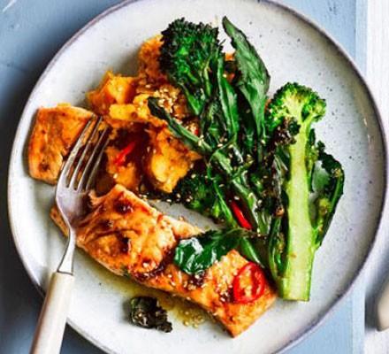 Healthy Salmon Recipes Bbc Good Food