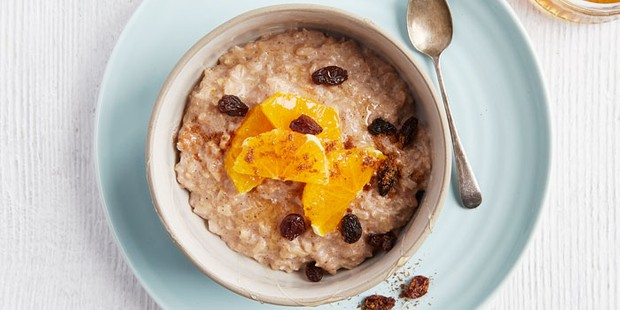 healthy spiced rice pudding