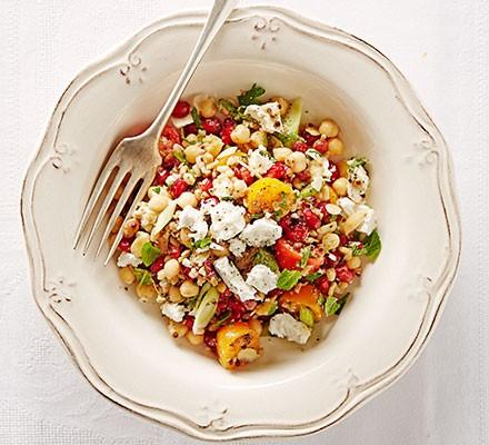 Help-yourself grain fridge salad