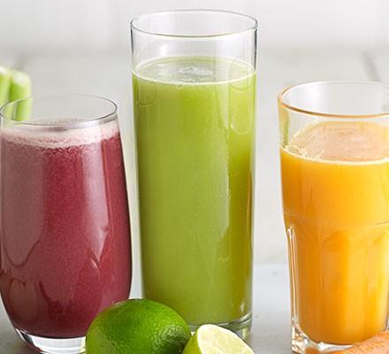 Honeydew melon, cucumber & lime juice