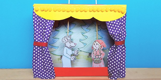 How to make a cereal box theatre