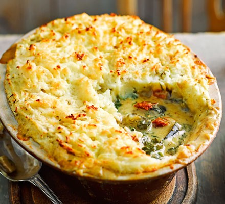 Italian veggie cottage pie