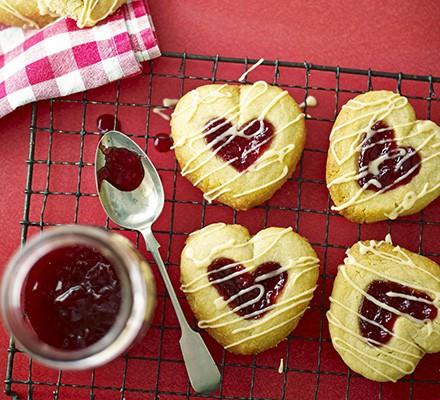 Jammy Heart Drops Recipe Bbc Good Food