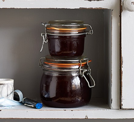 Cranberry & clementine jelly