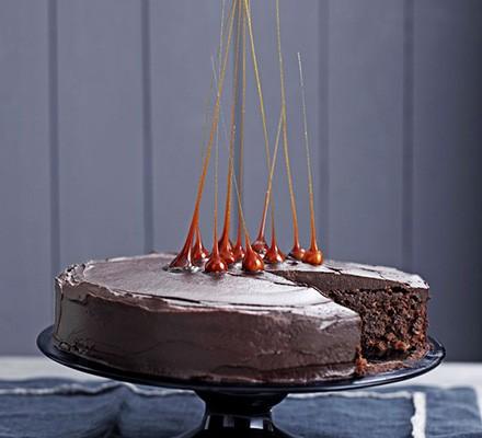 John Whaite's Chocolate & hazelnut celebration cake