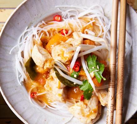 John's Thai chicken curry