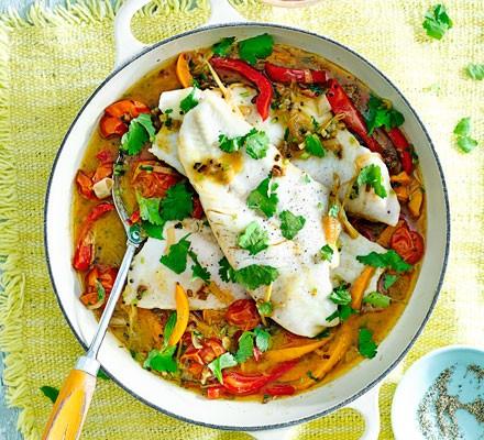 Keralan hake curry