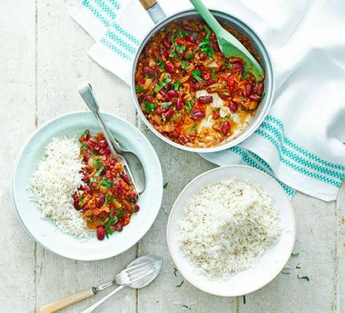 Kidney bean recipes: Kidney bean curry