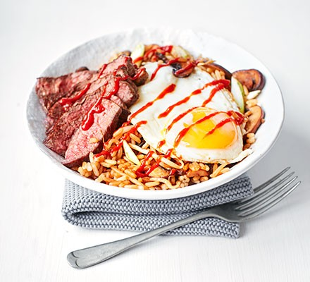 Korean-style fried rice