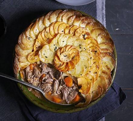 Lamb & dauphinoise hotpot