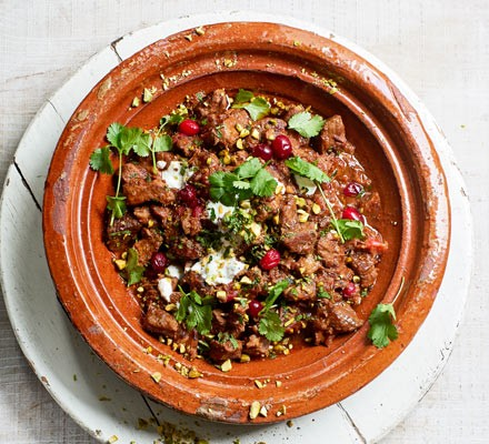 Lamb & cranberry tagine 2016