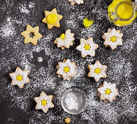 A selection of lemon stars