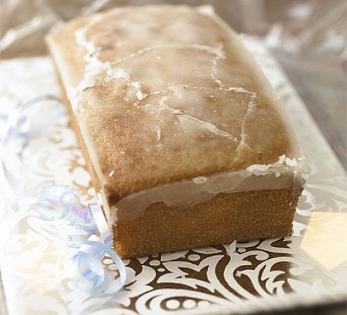 A lemon drizzle loaf