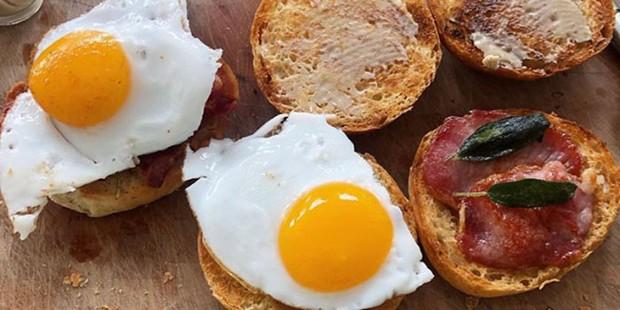 Le Swine bacon sandwich