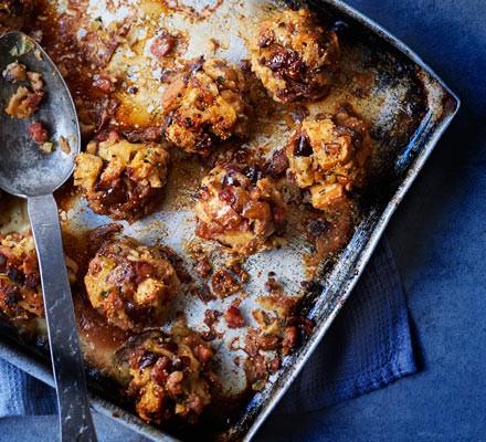 Fig & pancetta American stuffing 2016