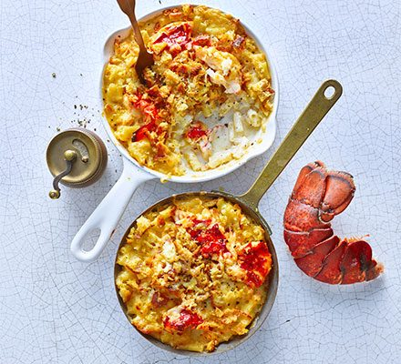 Lobster mac & cheese image