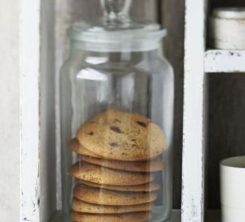 Malty choc chip cookies