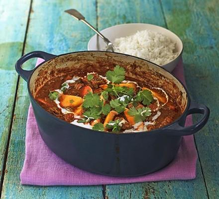 Lamb & mango curry