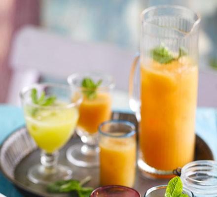 Melon & ginger sharbat