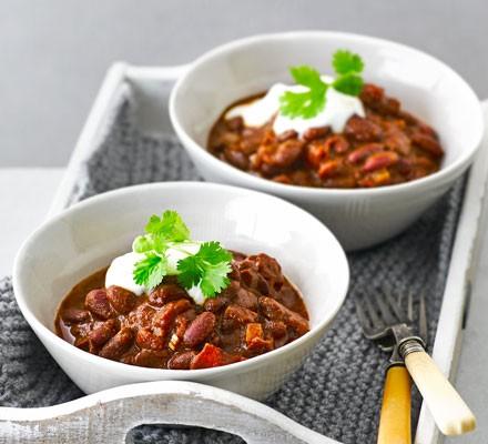 Microwave chilli