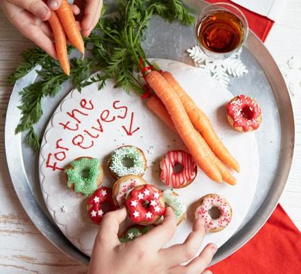 Mini elf doughnuts