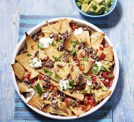 Lighter nachos