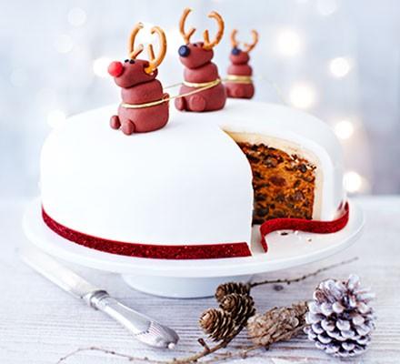 Nancy's Rudolph Christmas cake