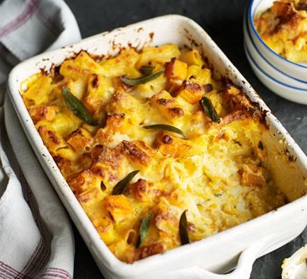 Butternut squash & sage macaroni cheese