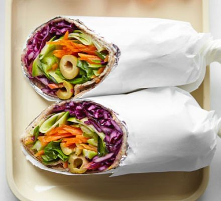 healthy olive wrap