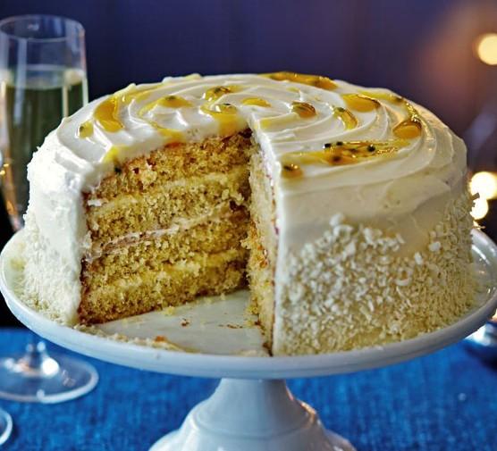 Passion layer torte