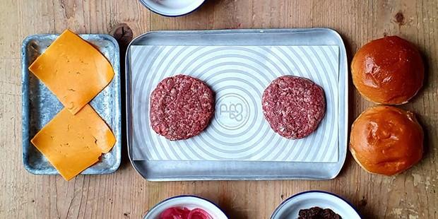 Patty & Bun burger kit