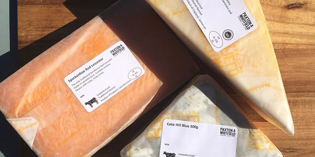 Paxton and Whitfield British Cheese Essentials Box, best wine gifts, best cheese subscription boxes