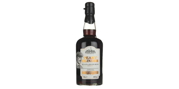 Sadler's peaky blinder spiced rum, black friday alcohol deals