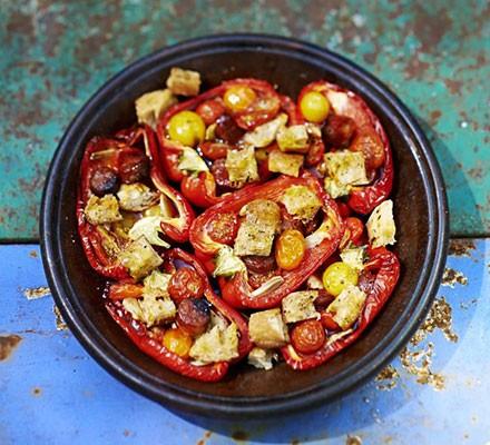 Spanish stuffed peppers